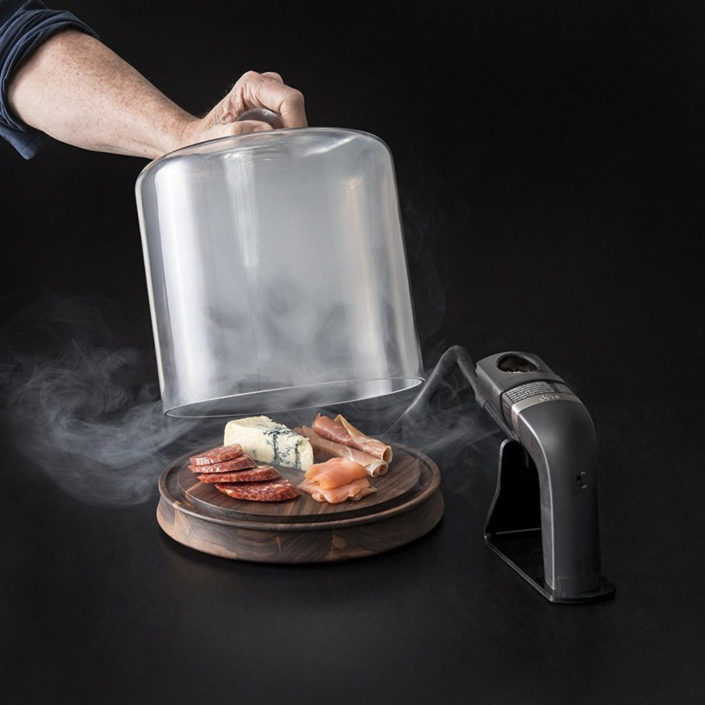 Glass Smoker with Smoke Infusing Gun