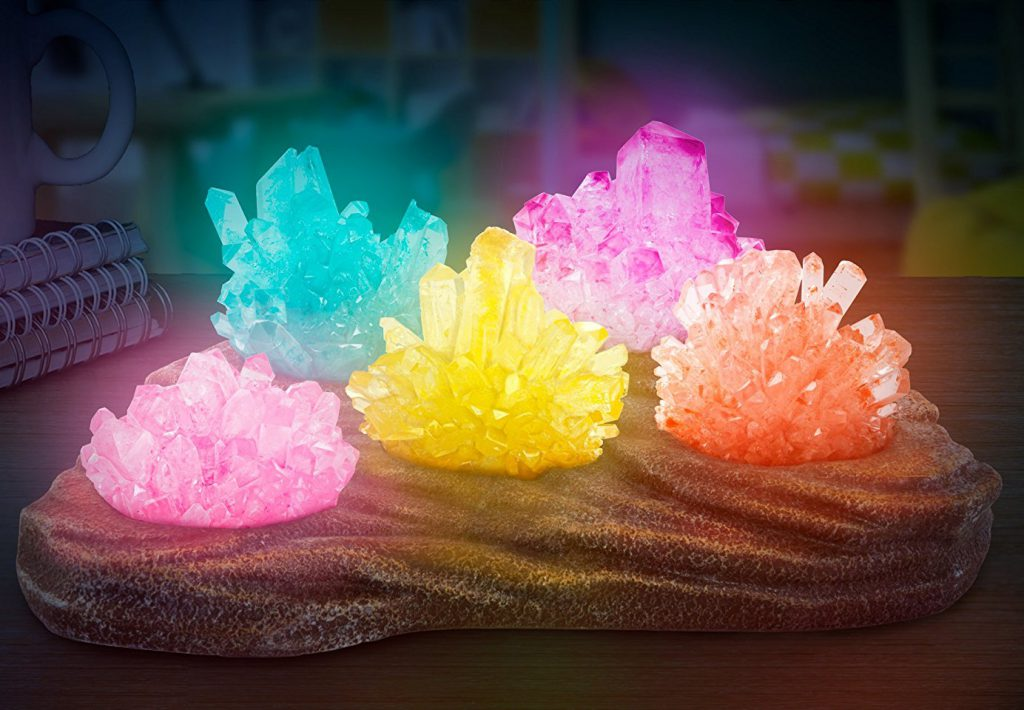 Grow your own Glow in the Dark Crystal Nightlight