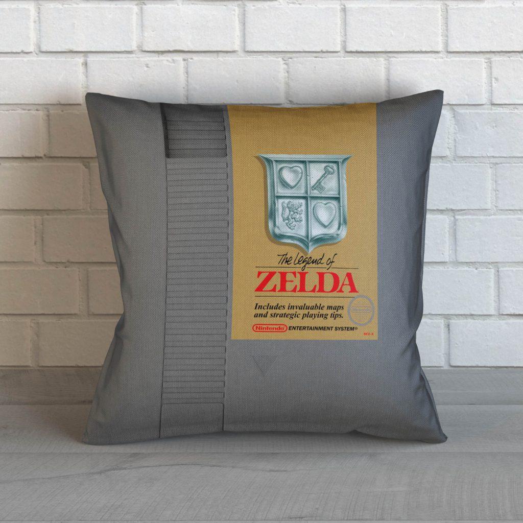 Legend of Zelda NES Cartridge Cushion
