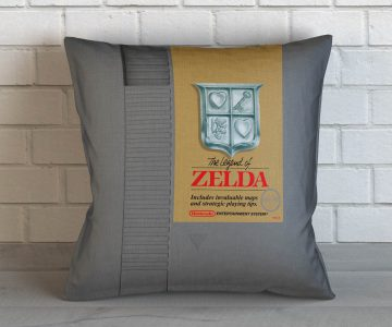 Legend of Zelda NES Cartridge Cushion