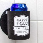 Happy Hour in the Shower is a shower beer Holder
