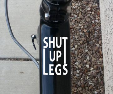 Shut up legs Cycle Decals