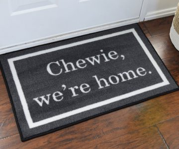 Star Wars 'Chewie We're Home' Door Mat