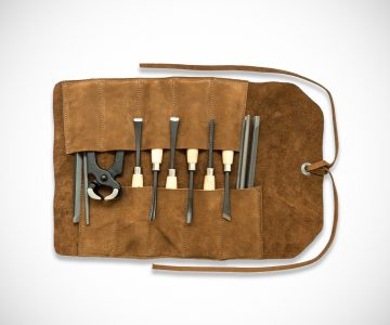 Swayze Suede Tool Roll