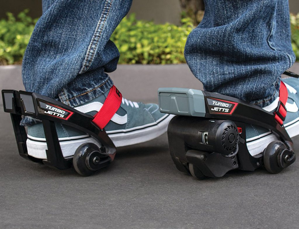 Turbo Jetts Electric Motorized Heel Wheels Skates