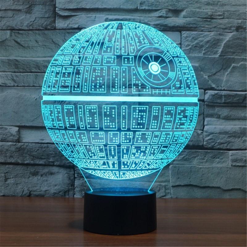 Death Star 3D Illusion Light