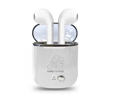Shinefuture Wireless Earbuds With Charging Case