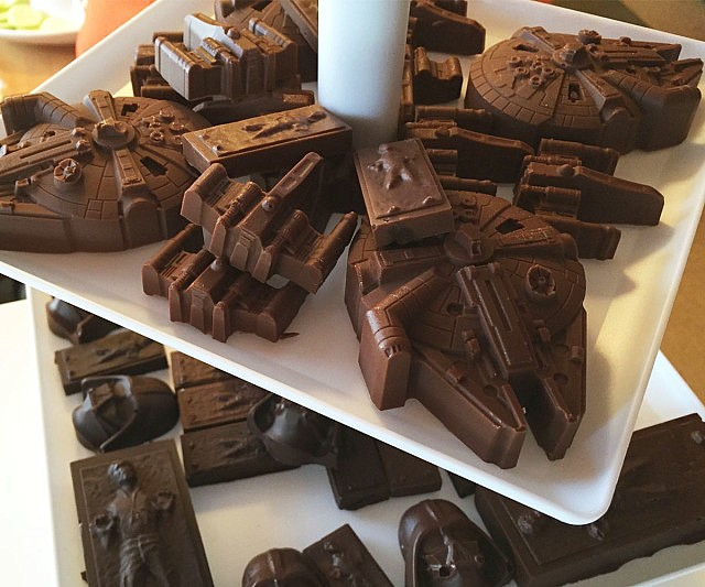 Star Wars Chocolate Bars