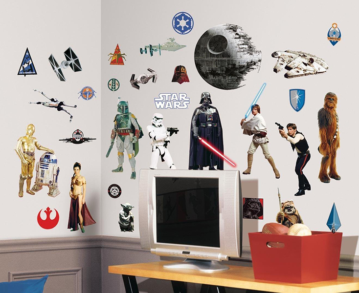 Star Wars Classic Peel And Stick Wall Decals