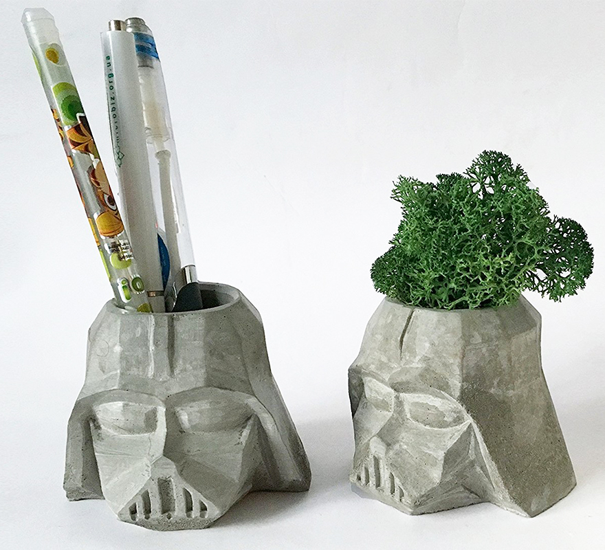 Star Wars Darth Vader Pen Holder Planter Pots