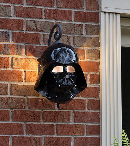 Star Wars Darth Vader Porch Light Cover