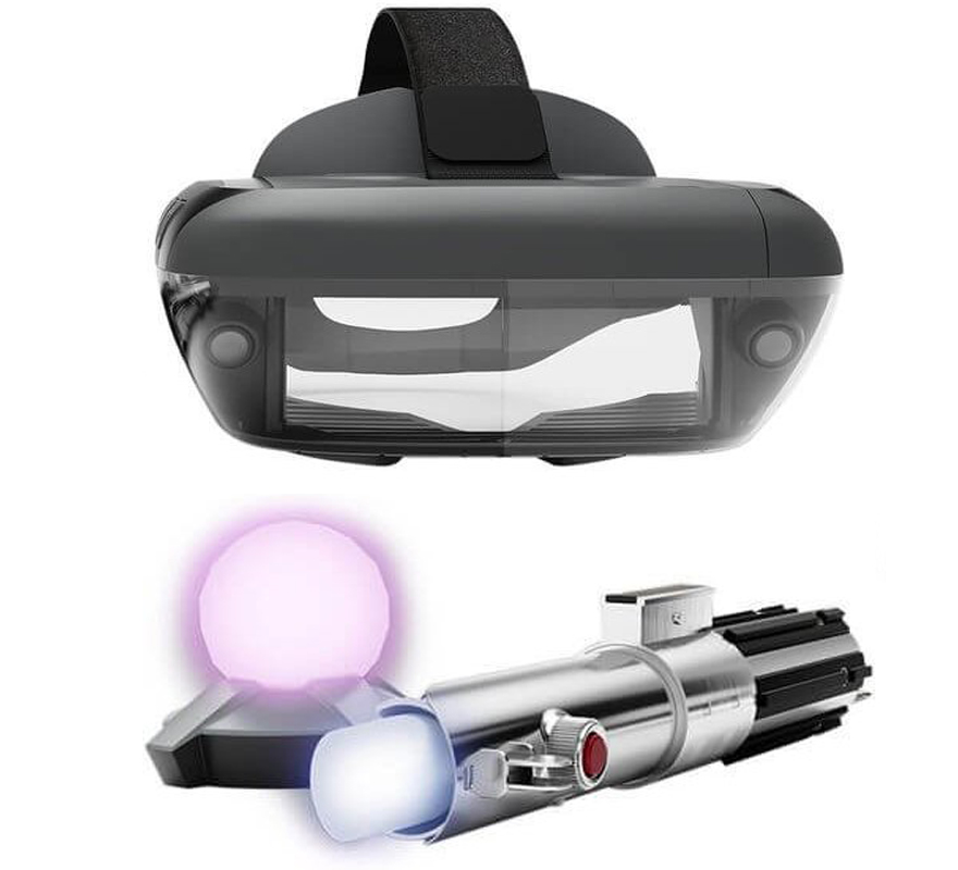 Star Wars: Jedi Challenges AR Headset with Lightsaber