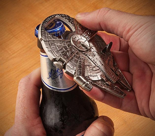 Star Wars Millennium Falcon Bottle Opener