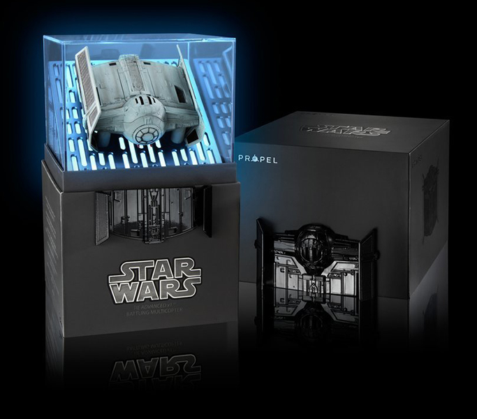 Star Wars Quadcopter: Tie Fighter Collectors Edition Box