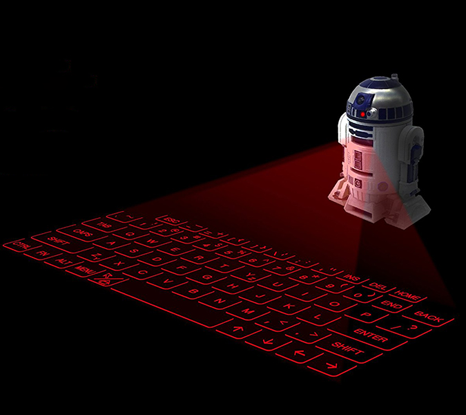 Star Wars R2D2 Virtual Keyboard