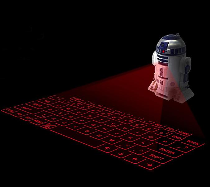 Star Wars R2D2 Virtual Keyboard