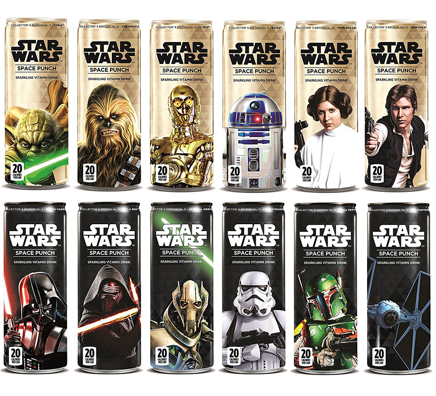 Star Wars Space Punch Sparkling Vitamin Drink