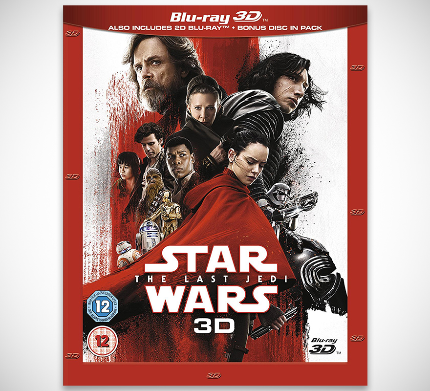 Star Wars: The Last Jedi 3D & 2D Blu-ray