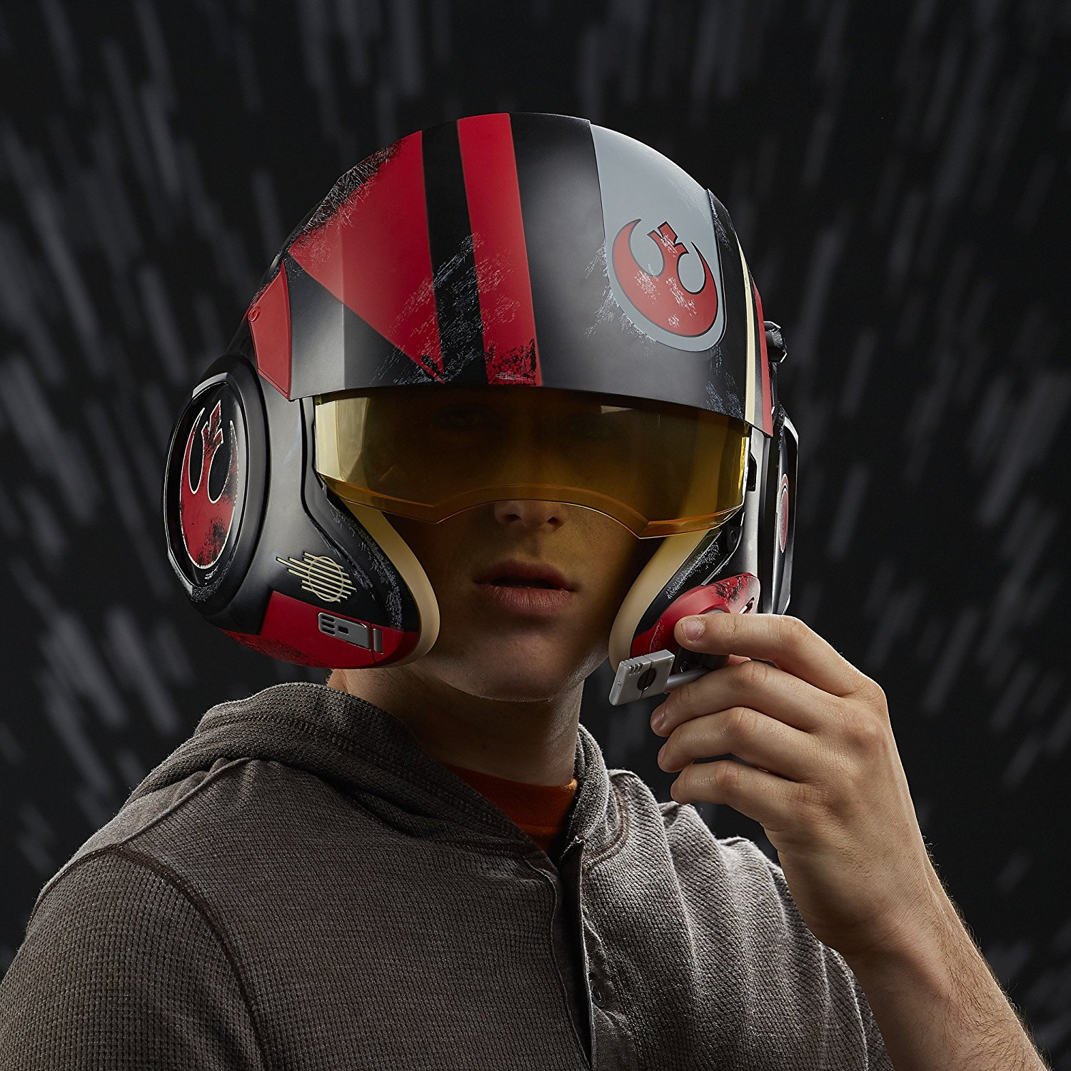 The Black Series Poe Dameron Electronic X-Wing Pilot Helmet